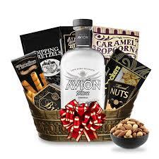 tequila gift basket buy avion silver tequila gift basket online