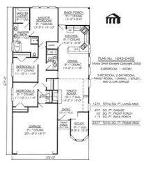 main floor plan of mascord plan 22137 the wilton narrow lot