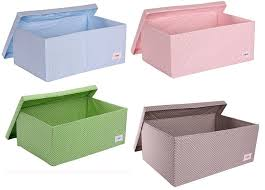 childrens boxes polkadot fabric storage boxes for childrens rooms hippins for baby
