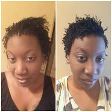 starting sisterlocks with short hair short sisterlocks can be created also this client only had 1 inch