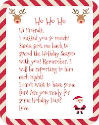 free printable elf arrival letter holiday santa letter christmas