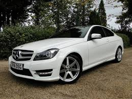 mercedes c220 cdi amg sport used mercedes c class coupe 2 1 c220 cdi amg sport edition