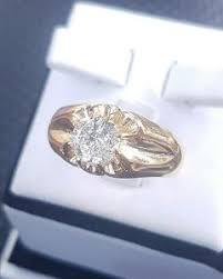 model cincin berlian mata satu cincin emas putih mata satu berlian banjar besar perhiasan