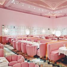 the pink gallery in sketch london fab location for afternoon tea