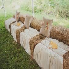 Fall Hay Decorations - amazing ideas for fall wedding decorations bash corner