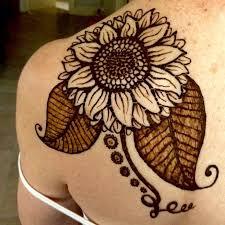 de 25 bedste idéer inden for beach henna tattoos på pinterest