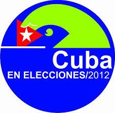 Logo elecciones en Cuba