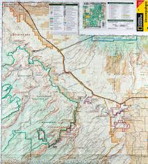 Colorado National Forest Map by Trail Map Of Uncompahgre Plateau North Colorado 147