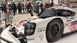 lego porsche 919 half lego half real porsche 919 race car la auto show 2016