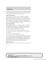 ford ranger 2005 2 g owners manual