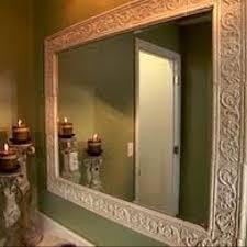 framed bathroom mirror ideas 36 best framing bathroom mirrors images on bathroom