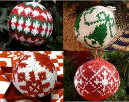 sharing my knitted christmas ball addiction gingerbread snowflakes