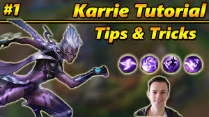 mobile legends tutorial karrie tips and tricks 1 youtube