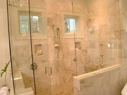 Master Bathroom Shower Ideas The Glass Enclosed Shower Love The Trim Around The Windows