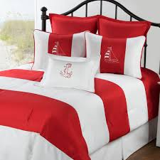 Anchor Comforter Regatta Red Comforter Sets By Victor Mill Free Shipping