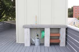 How To Build An Outdoor Kitchen Counter by Diy Outdoor Kitchen With Concrete Countertops