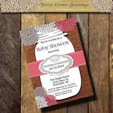 Mason Jar Bridal Shower Invitations Best Burlap And Lace Baby Shower Invitations Products On Wanelo