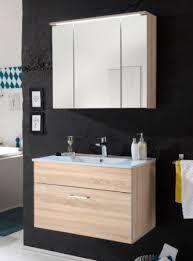 badezimmer hängeschrank mit spiegel splash spiegelschrank inkl led beleuchtung eiche sonoma bad