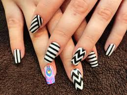 65 best black and white nail art design ideas for trendy girls