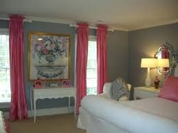 Pink And Gray Curtains Grey And Pink Bedroom Curtains Nrtradiant Com