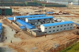 light steel structure workers house prefab labor house