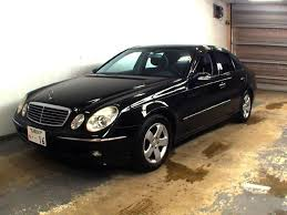 mercedes e class 2005 used mercedes e class for sale at pokal japanese used