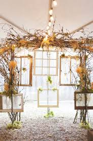 Wedding Arches Using Tulle 30 Chic Rustic Wedding Ideas With Tree Branches Tulle