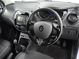 renault captur white interior nearly new renault for sale captur dci 90 dynamique s silver