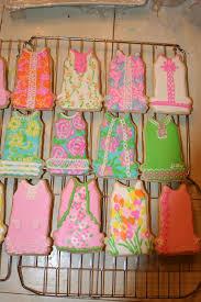 lilly pulitzer sugar cookies my baking pinterest sugar