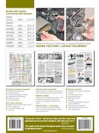 honda cb600 hornet cbf600 cbr600f 07 12 techbooks cz