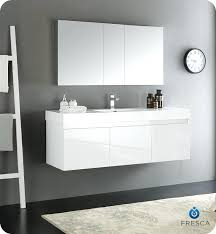 white bathroom medicine cabinet modern bathroom vanities mezzo white wall hung single sink modern