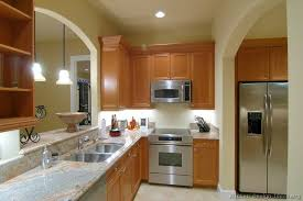 kitchens with stainless appliances kitchen design with oak cabinets and stainless steel appliances