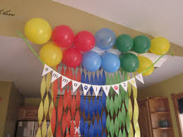 1st birthday party decorations at home simple balloons design for 1st birthday home decor simple 1st