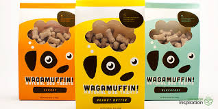 wagamuffin treats daily package design
