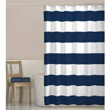 Navy And Red Shower Curtain Modern Shower Curtains Allmodern