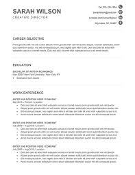 Template Resume Free Free Resume Downloads Resume Template And Professional Resume