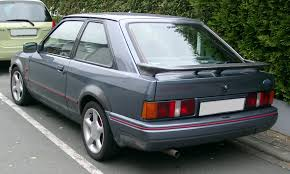file ford escort xr3i rear 20071002 jpg wikimedia commons