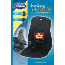 Back Massager For Chair Reviews Amazon Com Dr Scholl U0027s Soothing 5 Motor Full Cushion Massager