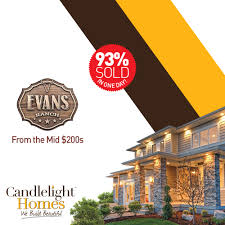 Candlelight Homes Candlelight Homes Sells 93 Of Homesites In One Day Candlelight