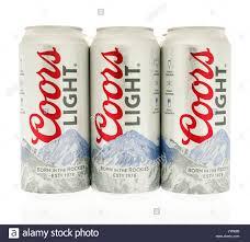 Coors Light Flag Coors Light Beer Stock Photos U0026 Coors Light Beer Stock Images Alamy