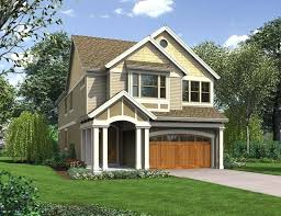 house plans narrow lots lake home plans for narrow lots plan adorable cottage small house