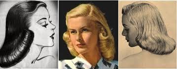1940s hair styles for medium length straight hair vintage hair tutorial the 1940s page boy smooth hair 1940s