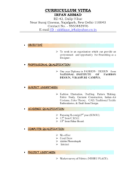 Sample Resume Format For 12th Pass Student by How To Type A Resume Resume For Your Job Application