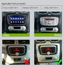 2007 ford focus radio joying automotive black 7 inch 2 din android 6 0 1