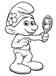 coloring books the smurfs gargamel to print and free