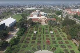 Urban Garden Los Angeles See Cool Los Angeles Sites In A Rare View From Above Curbed La