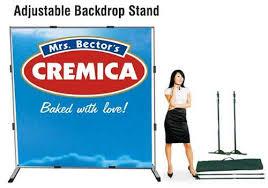 backdrop stands adjustable backdrop stands impact promotions delhi