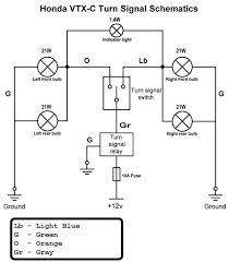 motorcycle turn signal wiring diagram hobbiesxstyle