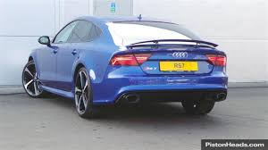 audi rs7 used used 2015 audi rs7 for sale in cheshire pistonheads cars