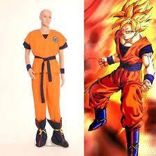 Super Saiyan Costume Halloween Goku Costume Ebay